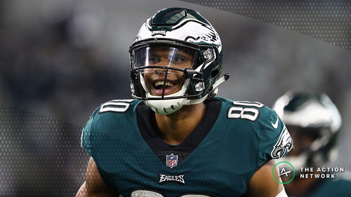 Koerner's Ultimate NFL Wild-Card Props Breakdown: What to Expect from Jordan Matthews, More article feature image
