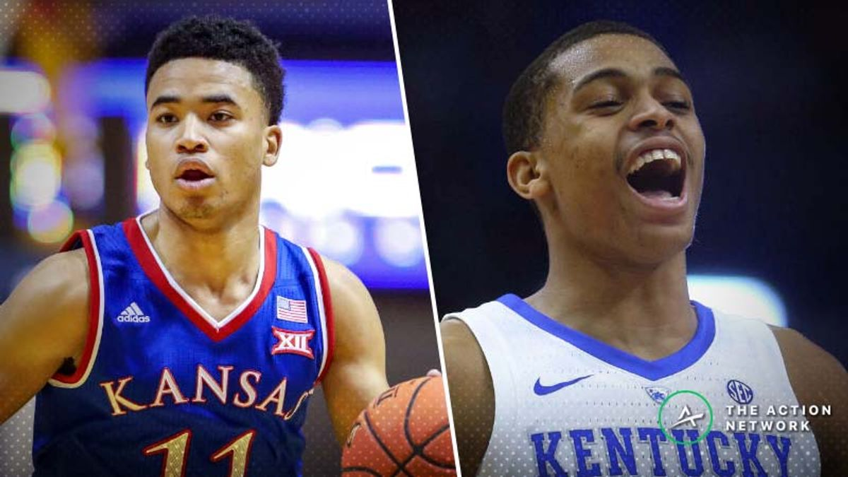 Kansas-Kentucky Betting Guide: Can Jayhawks Compete Down Low? article feature image