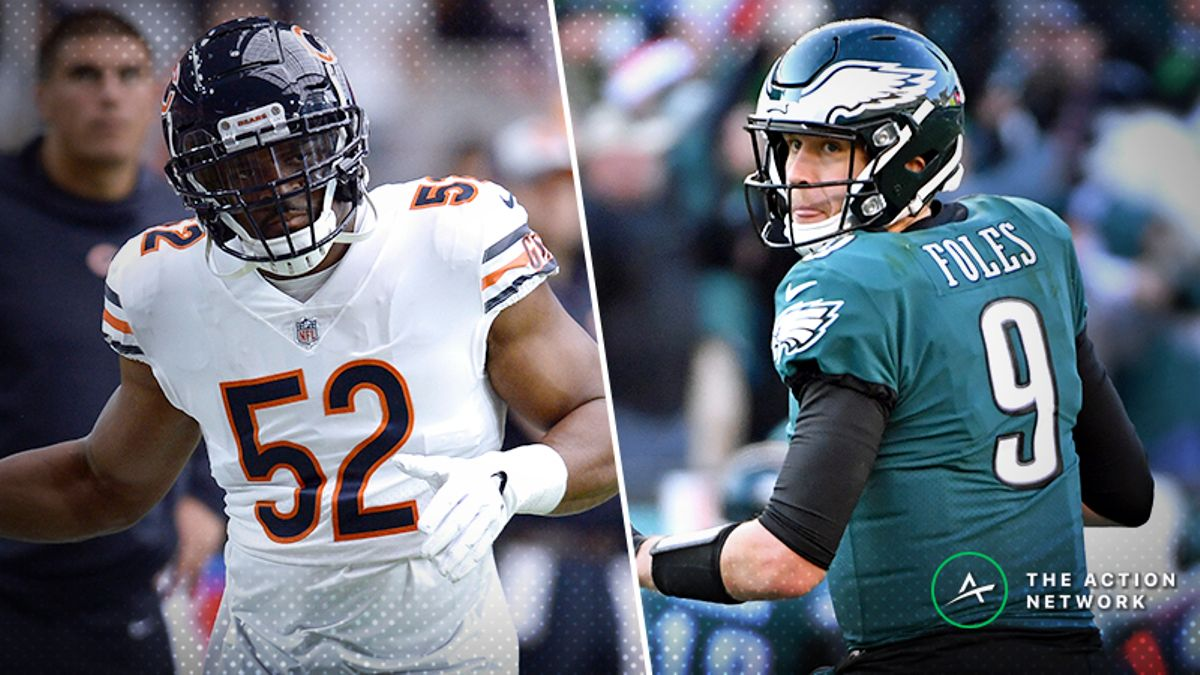Eagles-Bears Betting Preview: Will Chicago Put an End to Foles' Playoff Magic? article feature image