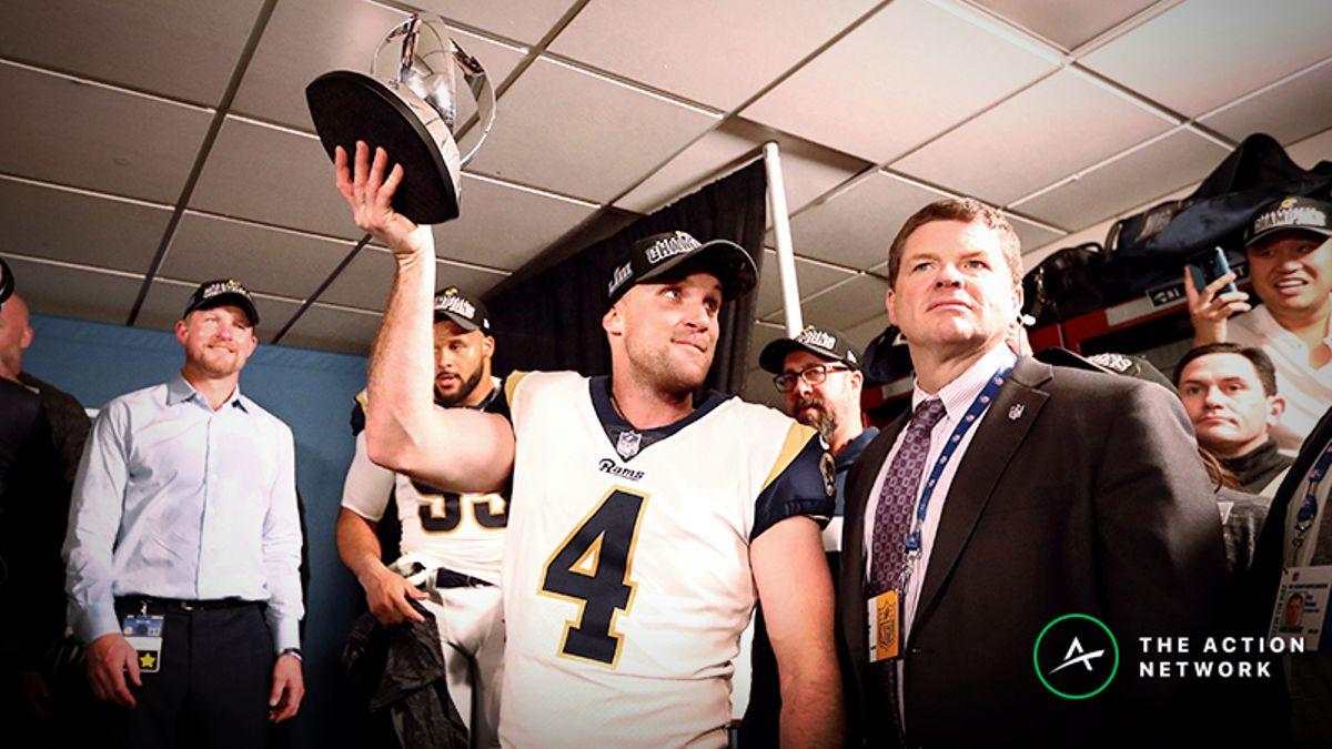 Freedman's Favorite Super Bowl 53 MVP Bet: Rams Kicker Greg Zuerlein to Win article feature image