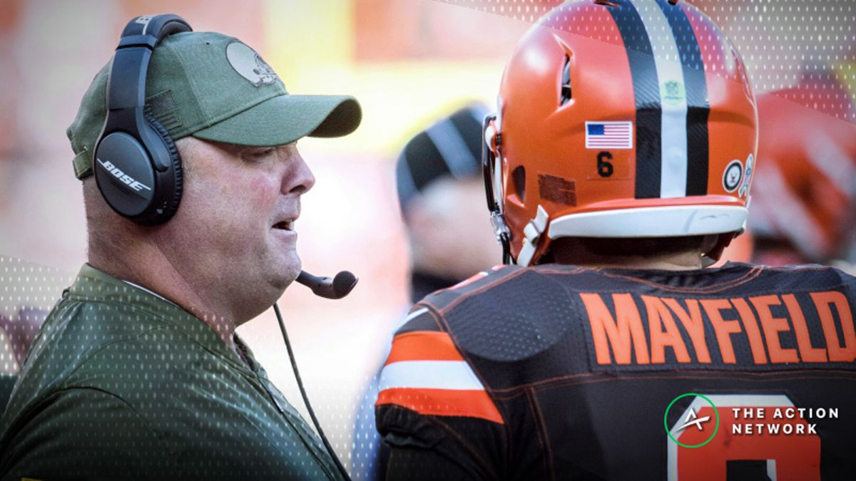 Browns Head Coaching Odds: Freddie Kitchens Favored Over Mike McCarthy article feature image