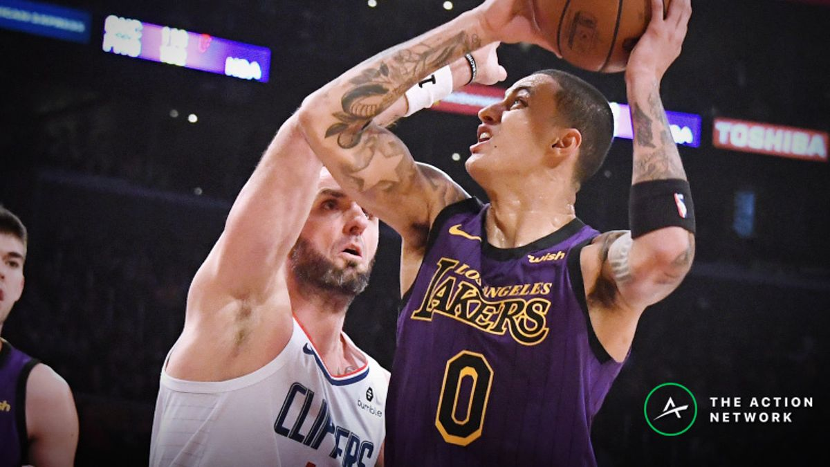 NBA Sharp Report: Wiseguys Hitting Lakers-Clippers, 3 Other Thursday Games article feature image