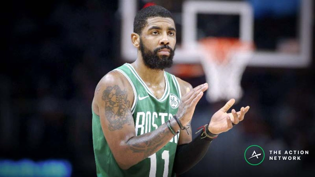 NBA Injury Report: Betting, DFS Impact of Kyrie Irving, Timbewolves Injuries article feature image