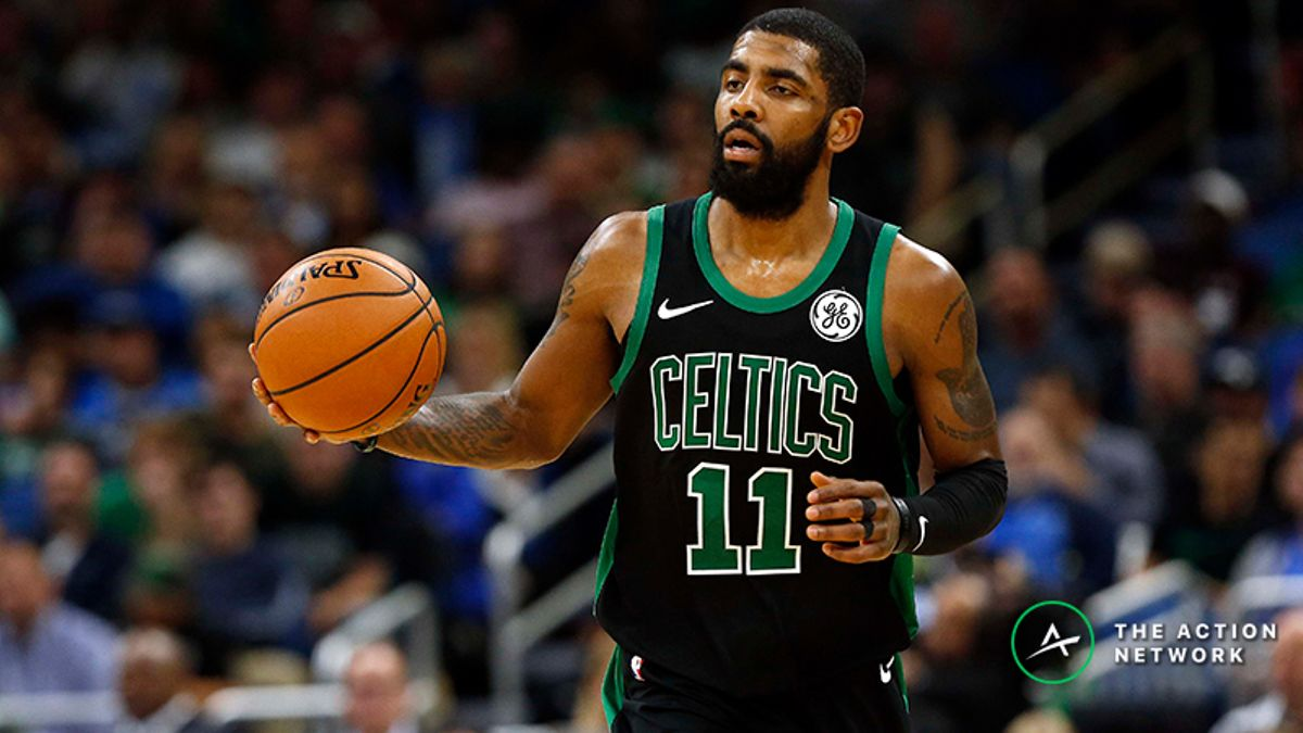 Koerner's Wednesday NBA Prop Picks: How to Value Kyrie Irving vs. Raptors article feature image