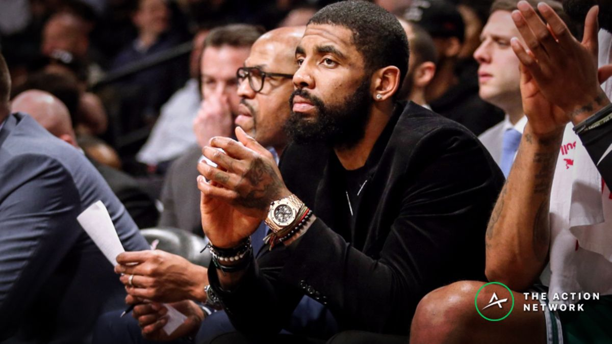 Kyrie Irving Injury News Moving Nets-Celtics Spread, Over/Under article feature image