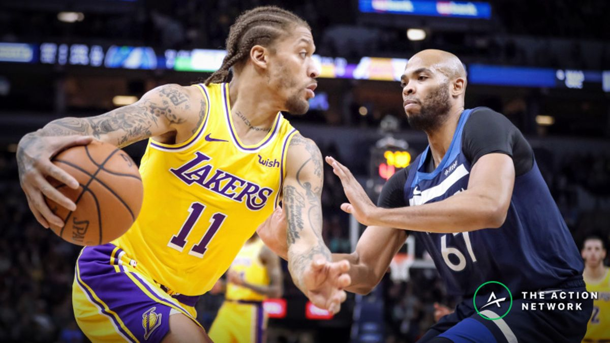 NBA Sharp Report: How Wiseguys Are Betting Timberwolves-Lakers article feature image