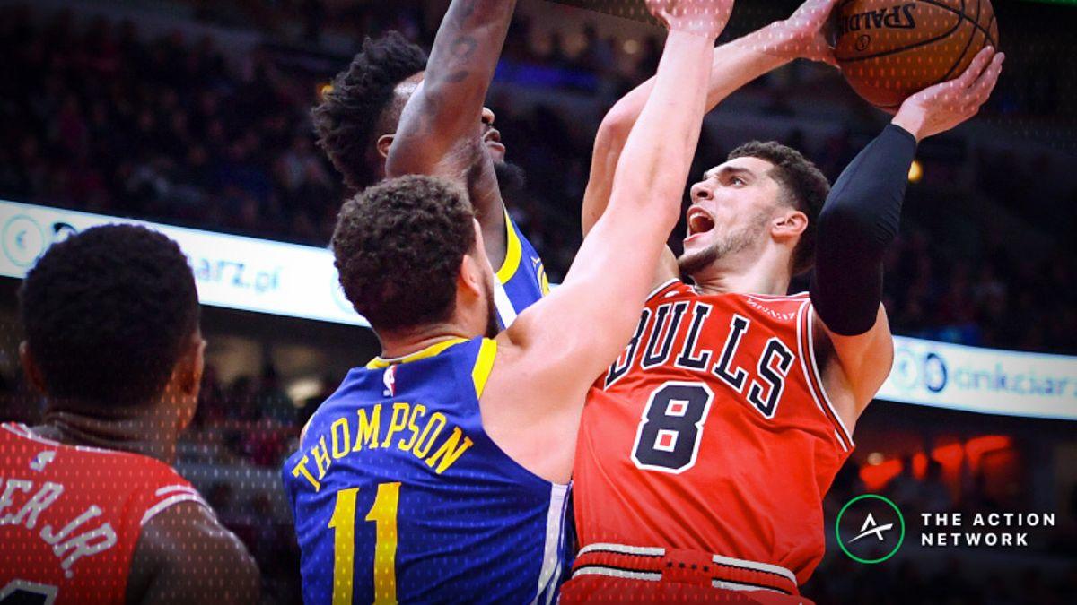 NBA Sharp Report: Bulls-Warriors Among 4 Games Drawing Smart Money article feature image