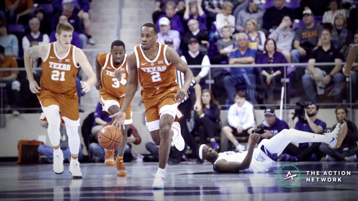 CBB Sharp Report: Pros Betting Kansas-Texas, 2 Other Tuesday Games article feature image