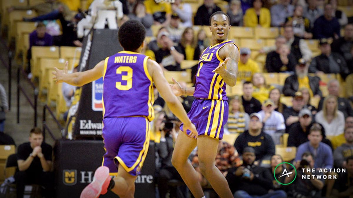 College Basketball Bad Beat: LSU Makes Improbable Comeback to Burn Bettors article feature image