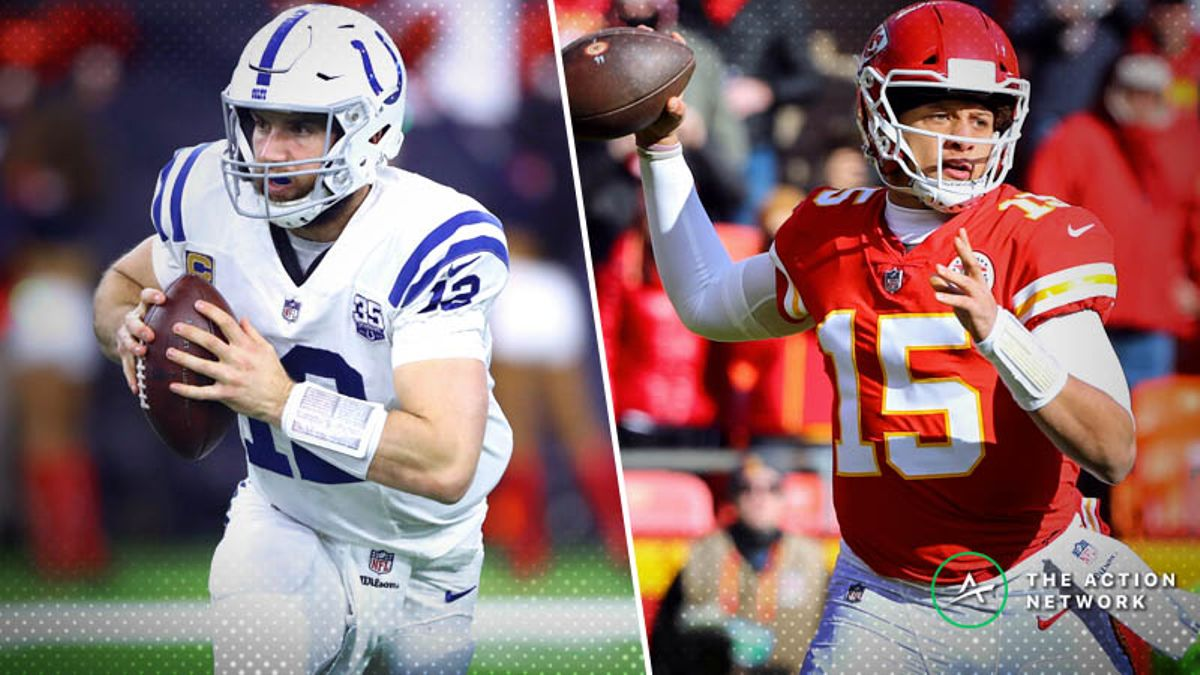 Colts-Chiefs Betting Preview: Will K.C.'s Playoff Woes Continue? article feature image