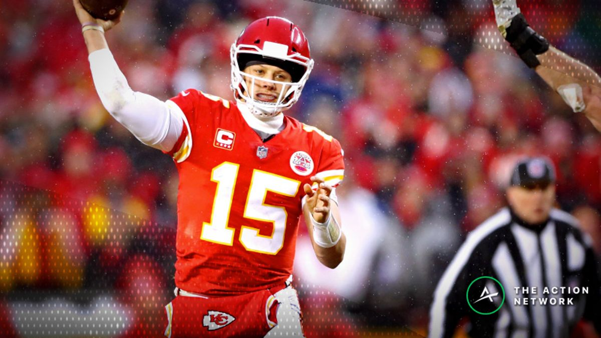 Early AFC Championship Game Odds: Chiefs Favored in Both Potential Matchups article feature image