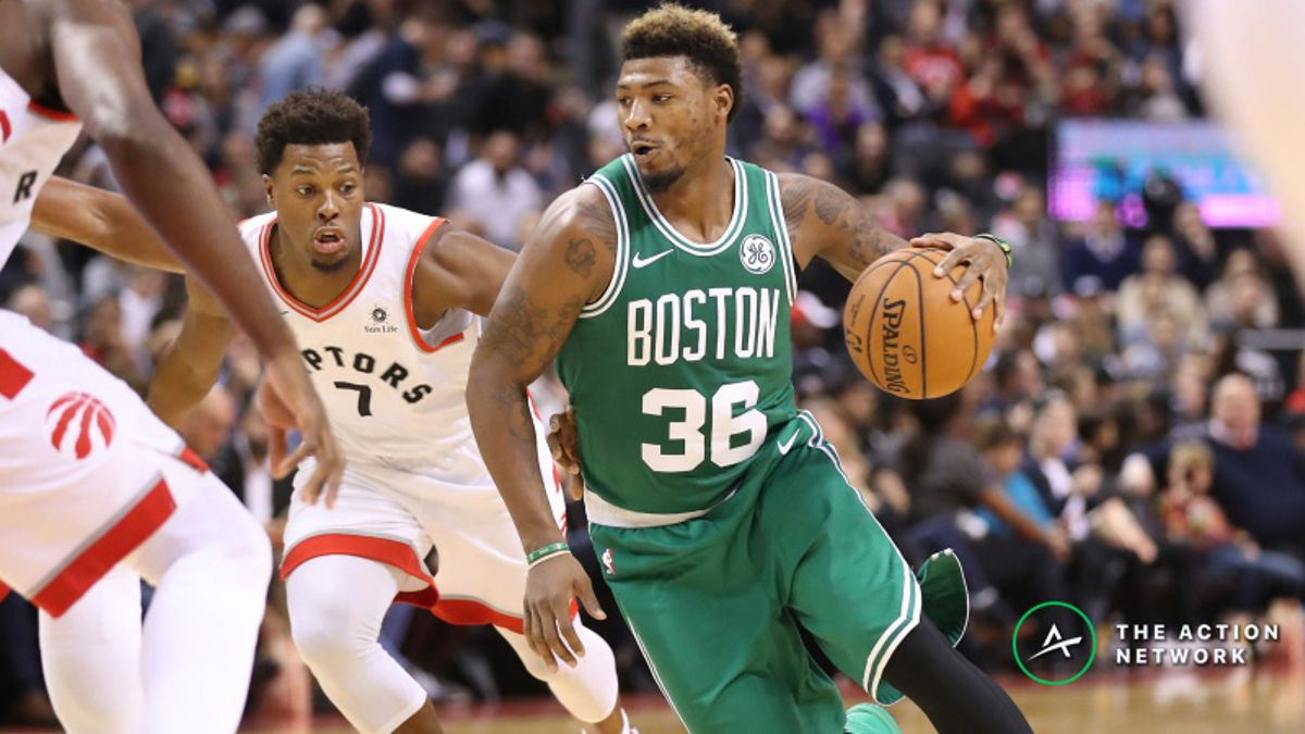 NBA Sharp Report: Smart Money Hitting Raptors-Celtics, 2 Other Wednesday Games article feature image