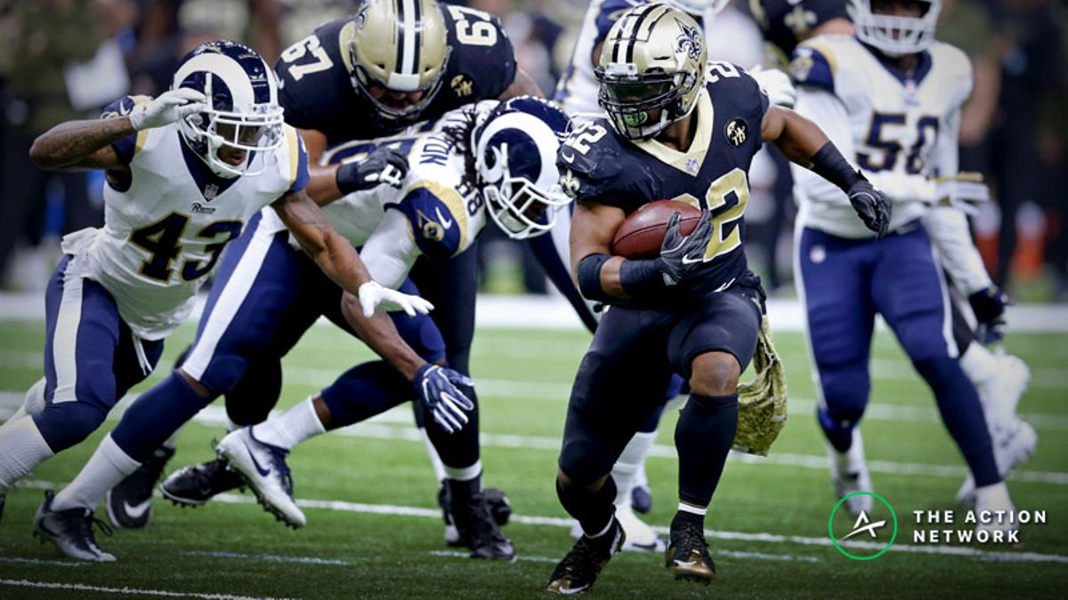 Freedman's Favorite NFL Prop Bet (Jan. 20): How Many Rushing Yards Will Mark Ingram Get? article feature image