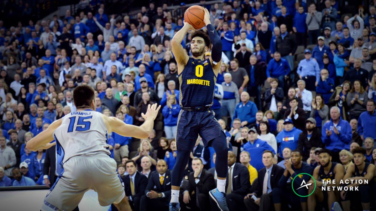 Why College Basketball's Rising 3-Point Rate Has Actually Created Value in the Under article feature image