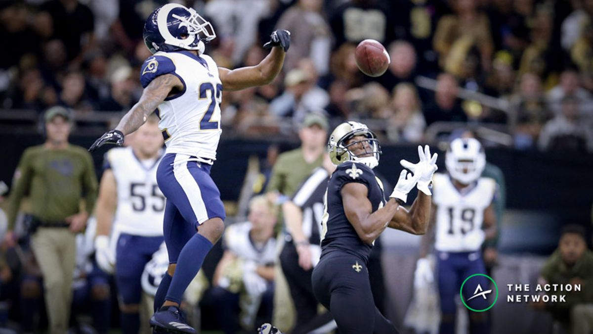NFL Championship Round Matchup Manifesto: The Rams Can't Guard Michael Thomas, More article feature image