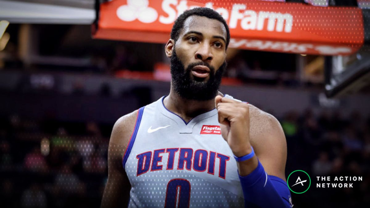 Freedman's Favorite Prop Bet (Jan. 10): Will Andre Drummond Get at Least 15 Rebounds? article feature image