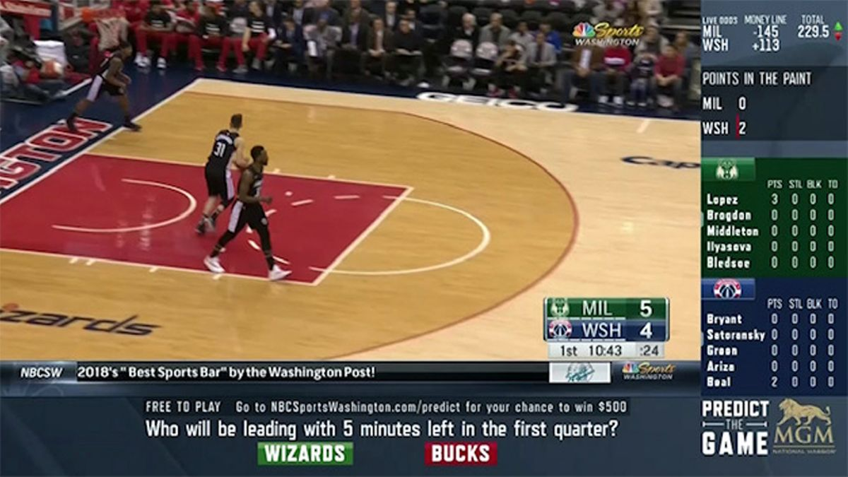Rovell: NBC Sports Washington's Betting Broadcast Impresses in Debut article feature image