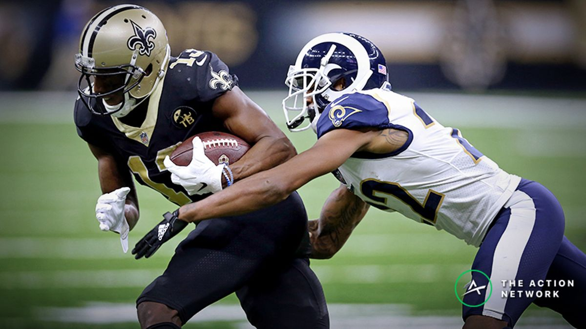 Rams-Saints Betting Odds: Tracking NFC Championship Game Line Moves article feature image