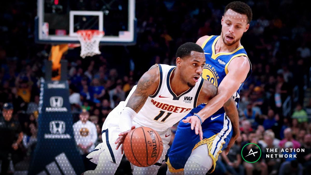 How Sharps Are Betting Tuesday's Warriors-Nuggets Matchup article feature image