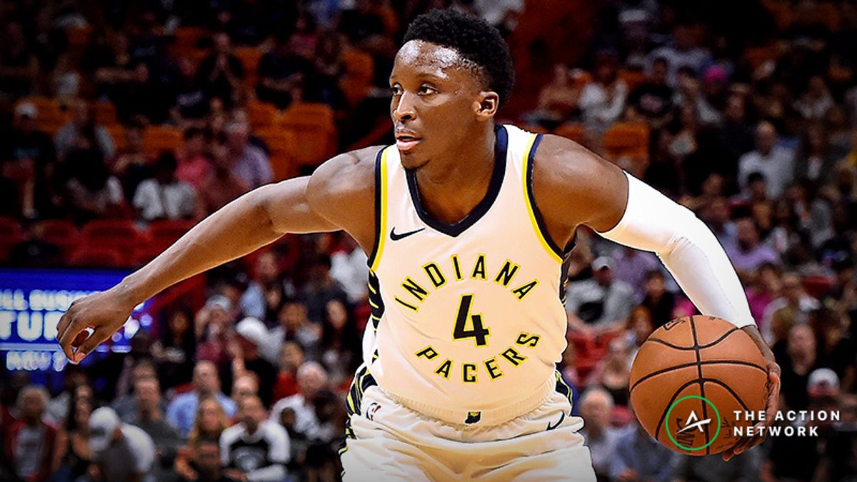 Oladipo Injury Sends Indiana Pacers' NBA Title Odds Falling article feature image