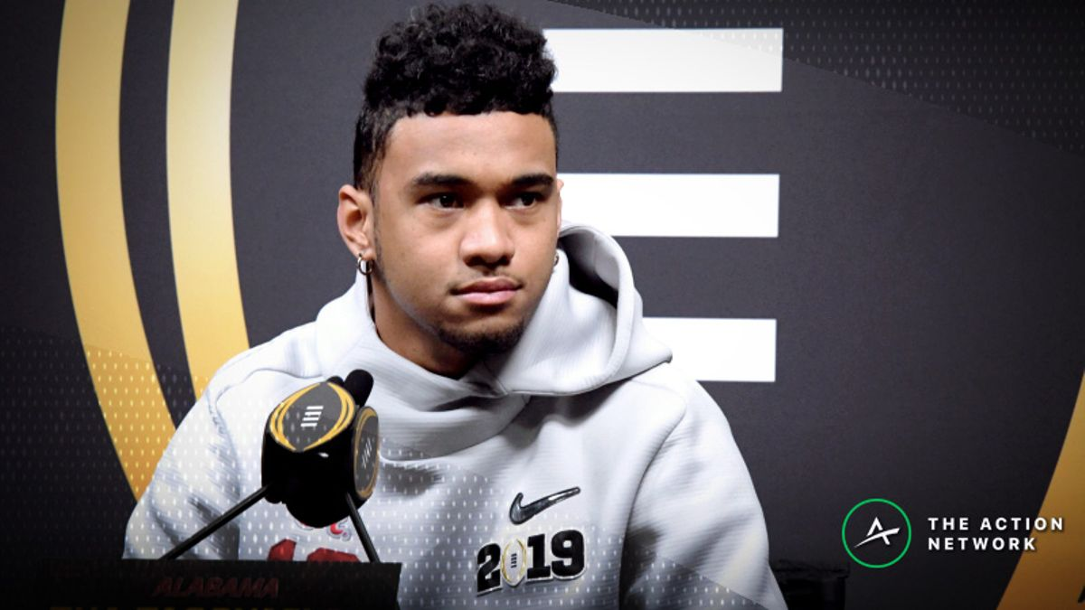 2019 Heisman Trophy Odds: Tua Tagovailoa the Early Favorite article feature image