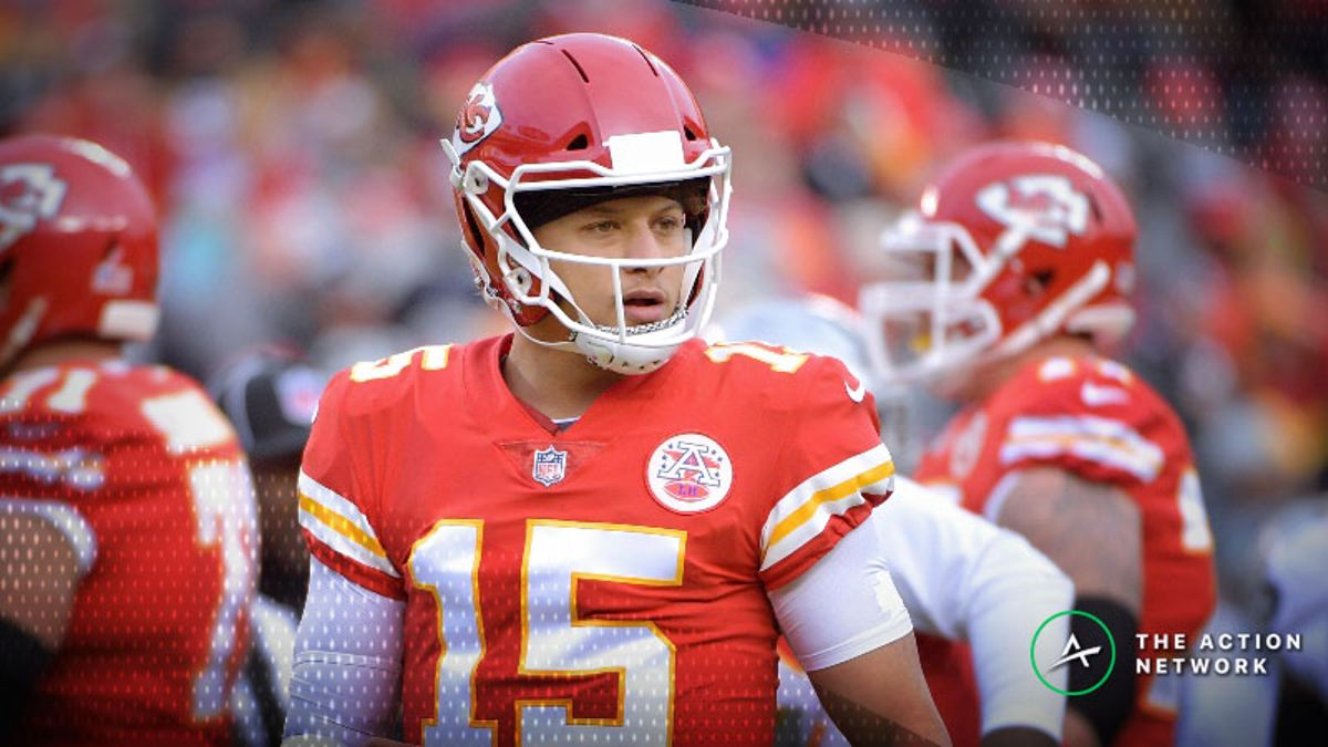 History Against Chiefs Covering in Mahomes' NFL Playoff Debut article feature image