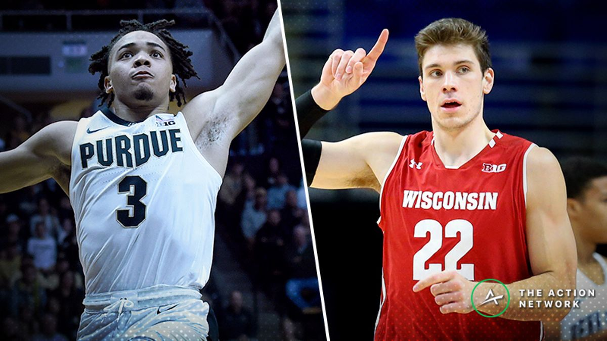 Friday's College Basketball Betting Previews: Indiana-Maryland, Purdue-Wisconsin article feature image