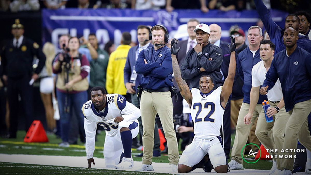 Stuckey: Why I Won't Be Betting a Side in Super Bowl 53 … Yet article feature image