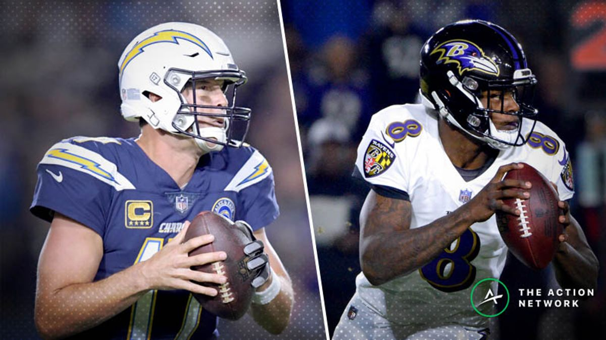 Chargers-Ravens Betting Preview: Will L.A. Be Better Prepared in The Rematch? article feature image