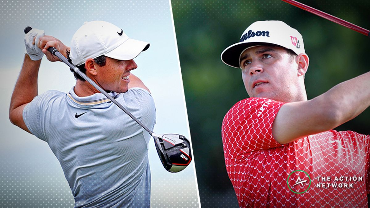 Sobel's Sentry Tournament of Championship Matchup Bets: McIlroy vs. Woodland in Round 4 article feature image