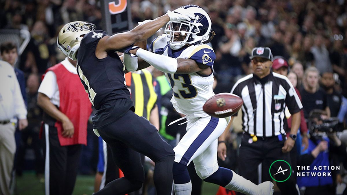Lawsuit Filed Against NFL Over Missed Call in Rams-Saints NFC Championship Game article feature image