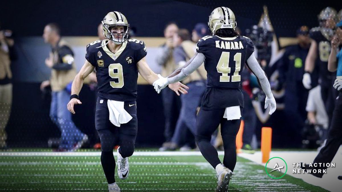 NFL Power Ratings: Rams-Saints Spread Is Off By a Full Point article feature image