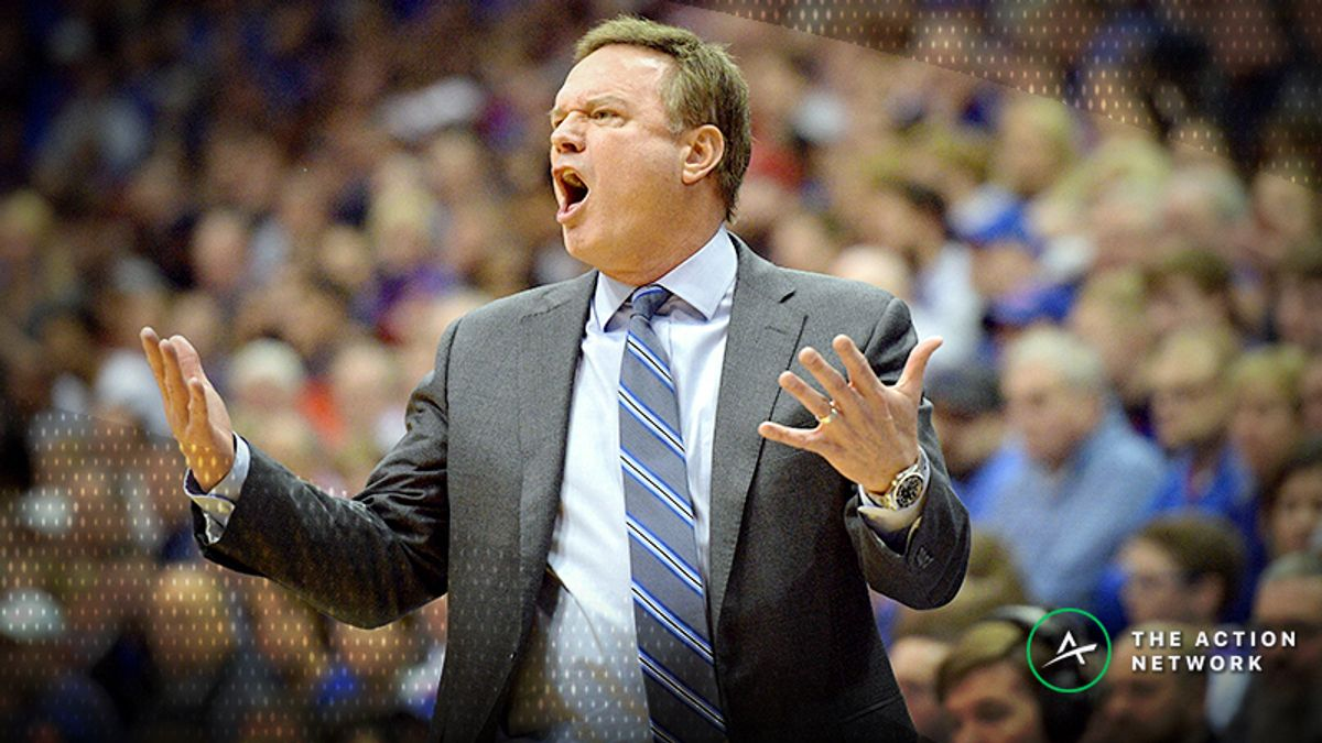 Wednesday's College Basketball Betting Previews: TCU-Kansas, Auburn-Ole Miss article feature image