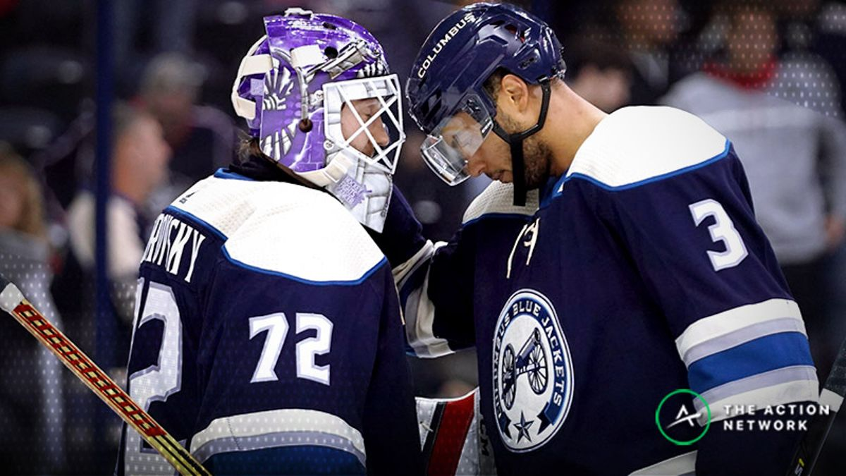 Blue Jackets-Lightning Betting Preview: Can Bobrovsky Be the Difference? article feature image