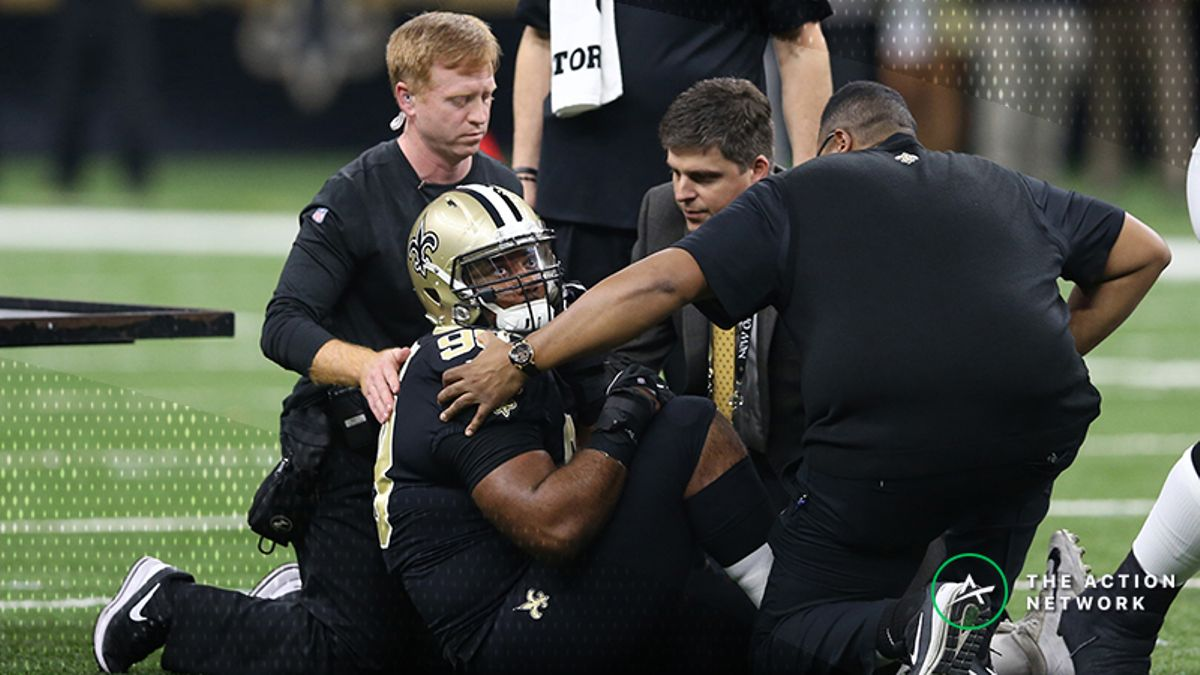 Rams-Saints NFC Championship Injury Report: New Orleans DT Sheldon Rankins Done for the Season article feature image