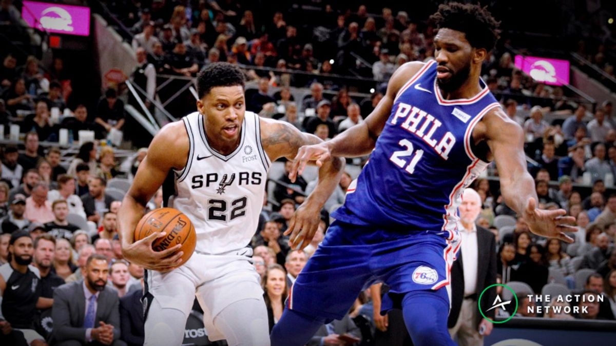 NBA Sharp Report: Smart Money Hitting Spurs-Sixers, Two Other Wednesday Games article feature image