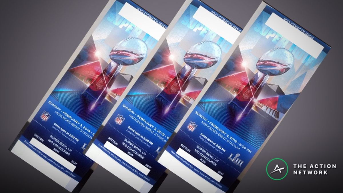 Rovell: Most Expensive Super Bowl 53 Ticket Purchases for Patriots-Rams article feature image