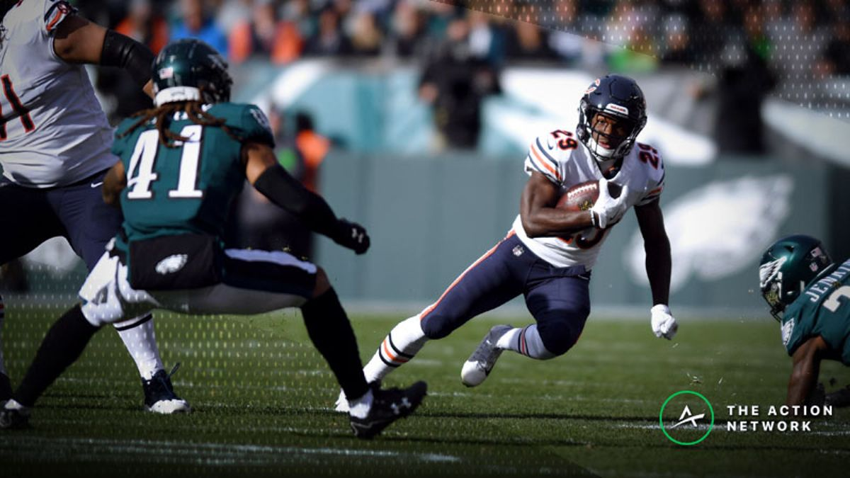 Best Bears-Eagles Wild Card Props: Don't Pass on Tarik Cohen's Receiving Role article feature image