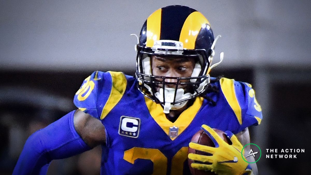 Biggest Matchup Advantages in Super Bowl 53: Todd Gurley Has an Elite Offensive Line article feature image