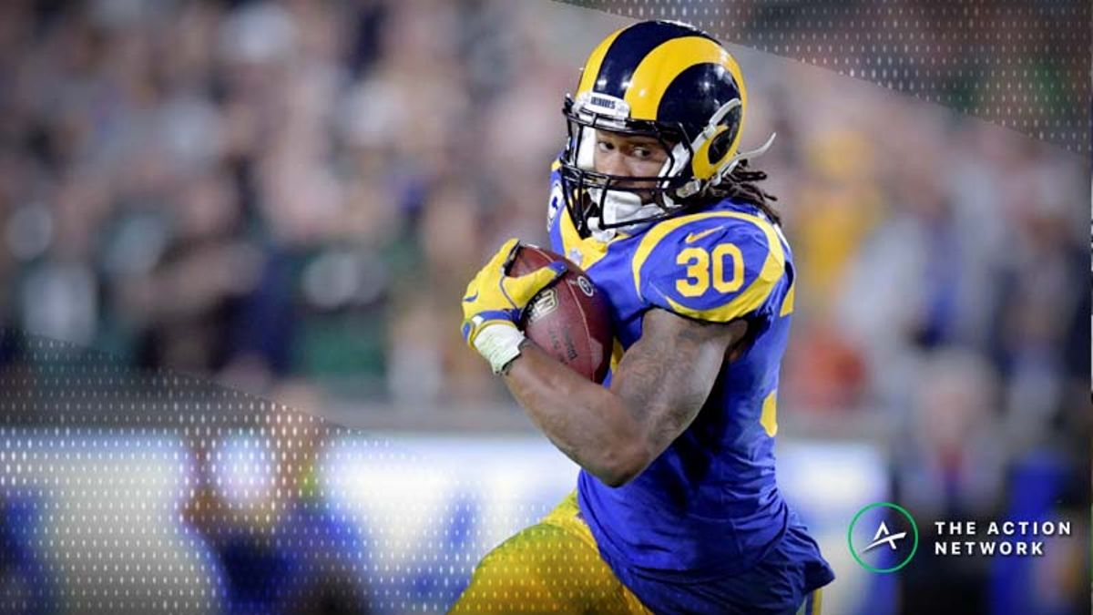 Divisional Round NFL Fantasy RB Breakdown: Is Todd Gurley Finally Back? article feature image