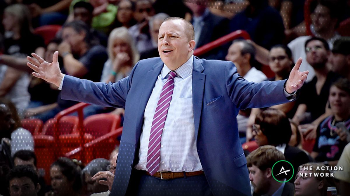 Phan and LaMarca: Betting and DFS Impact of the Tom Thibodeau Firing article feature image