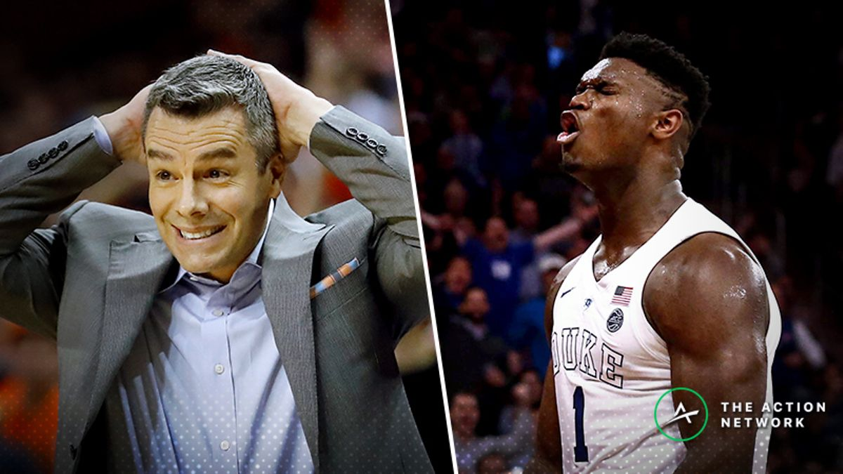 Virginia-Duke Betting Preview: Can Tony Bennett's Defense Handle Zion & Co.? article feature image