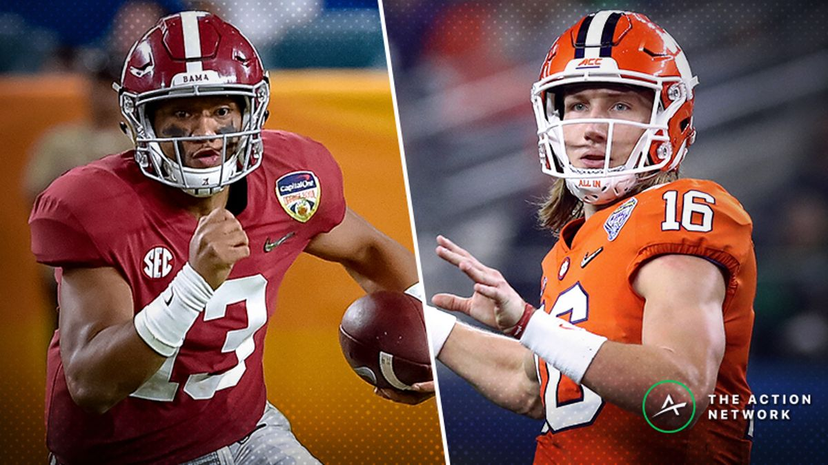 Best Player Props for Clemson-Alabama: How to Value Tua, Lawrence in 2019 National Championship article feature image