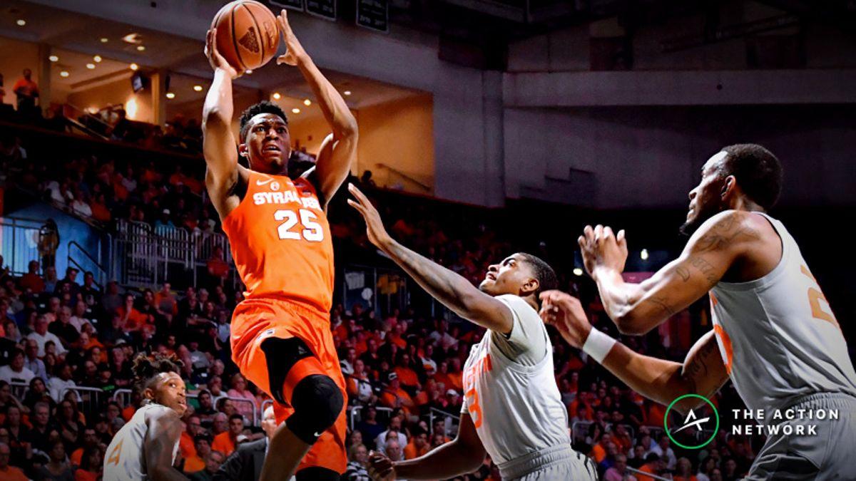 Thursday's College Basketball Betting Previews: Miami-Syracuse, Washington-Oregon article feature image