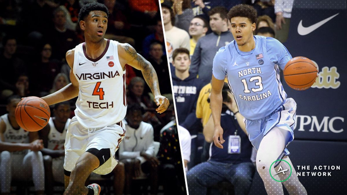 Monday's College Basketball Betting Previews: Virginia Tech-North Carolina, Marshall-Western Kentucky article feature image