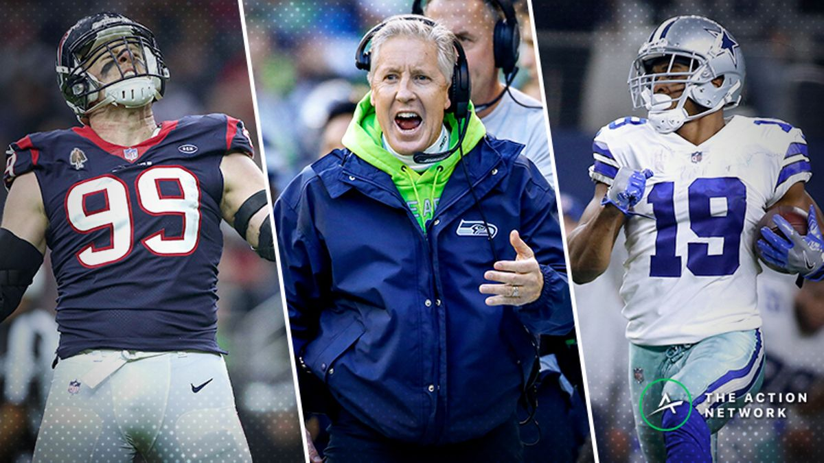 Saturday NFL Wild-Card Mega Preview: How to Bet Colts-Texans, Seahawks-Cowboys article feature image