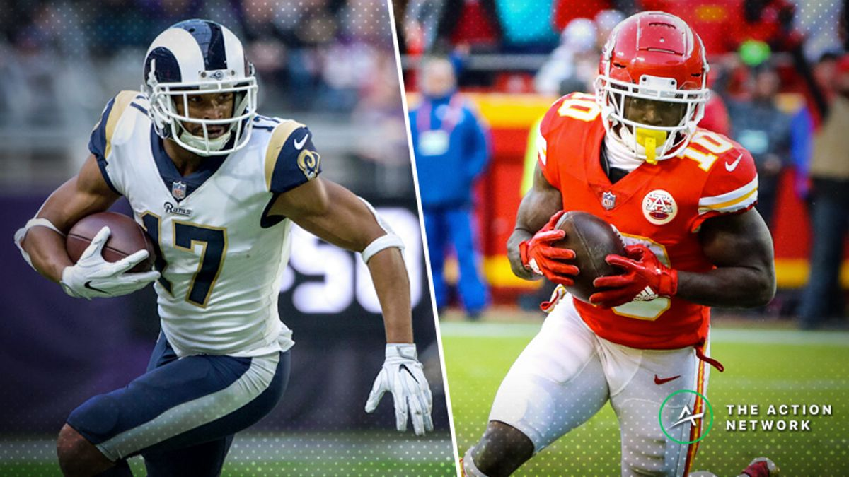NFL Divisional Round WR/CB Matchups: Robert Woods, Tyreek Hill Positioned for Success article feature image