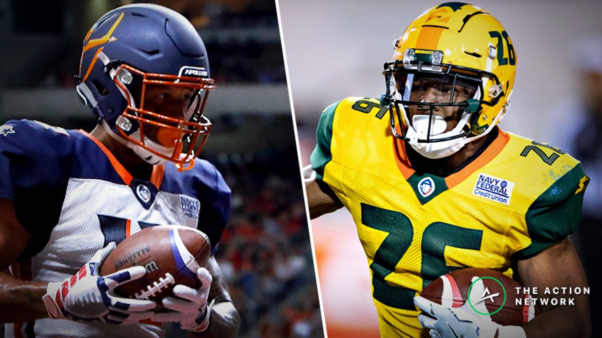 AAF Fantasy Football Rankings for Week 3 article feature image