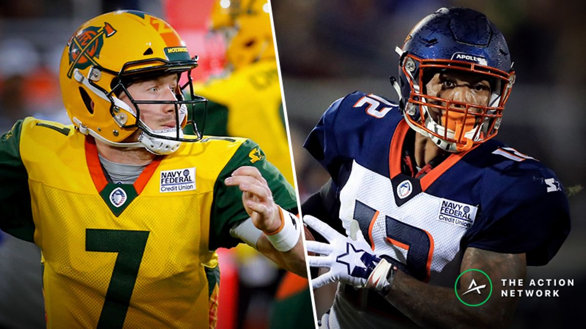 Your Ultimate Week 3 AAF Betting Guide: Picks, Analysis, More For All 4 Games article feature image