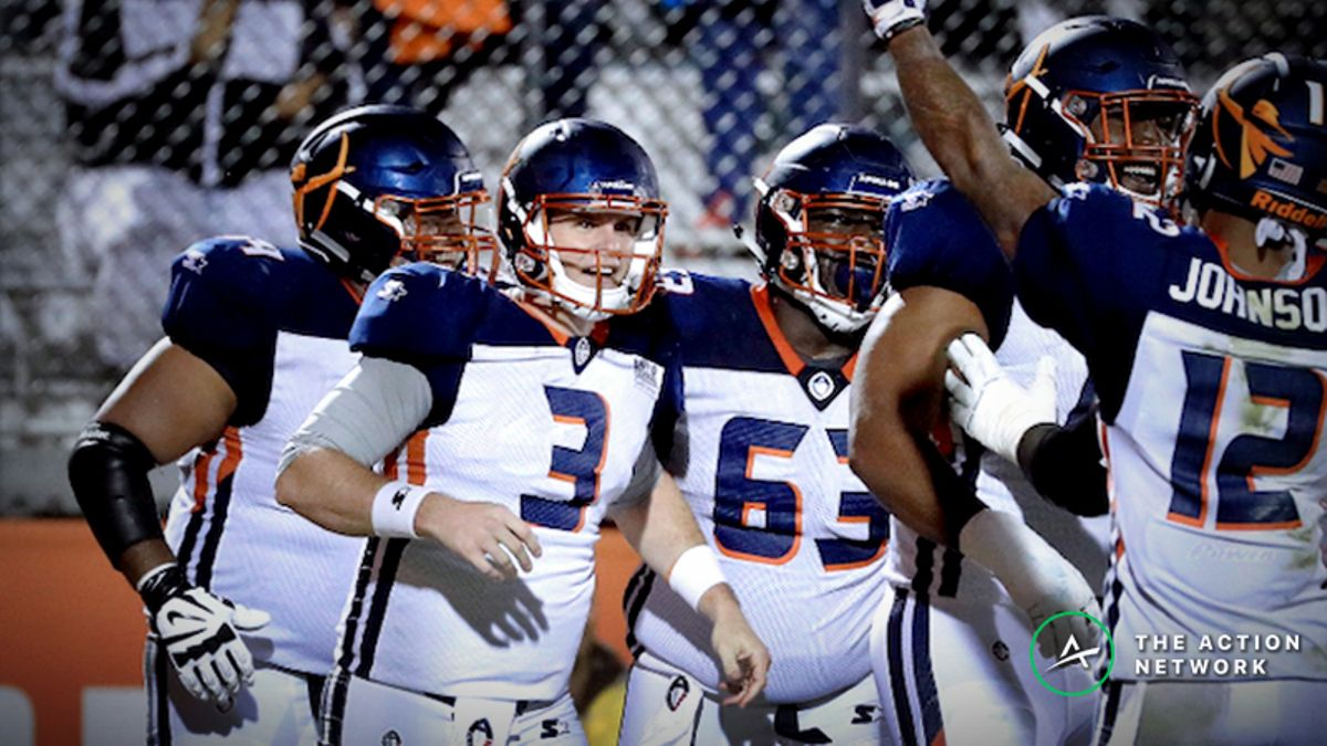 AAF Week 3 Cheat Sheet: Betting, Fantasy Football, More article feature image
